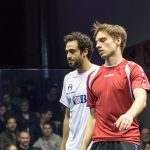 Roman Allinckx vs. Ramy Ashour | Herren Team WM 2017 (© FF Squash)